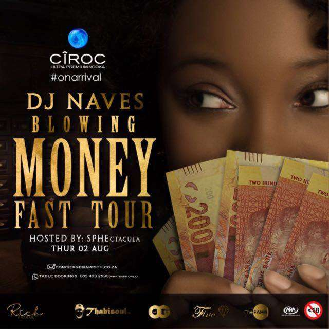 DJ Navez [Blowing Money Fast] Tour