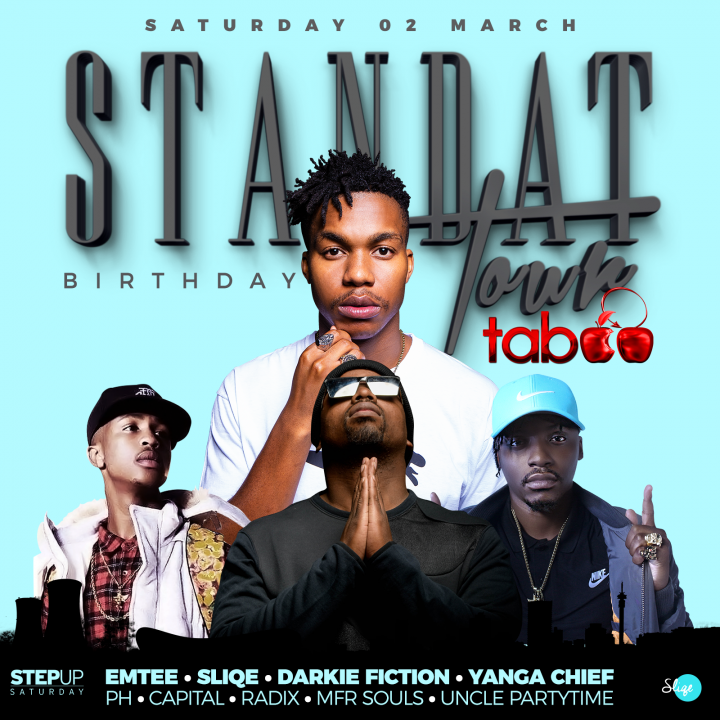Standat Birthday Tour: DJ Sliqe
