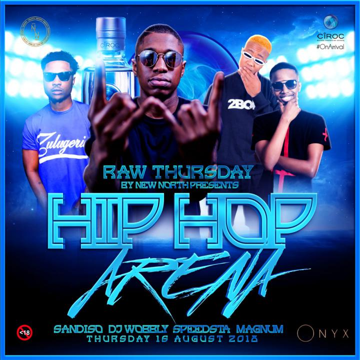 RAW Thursdays [Hip-Hop Arena]