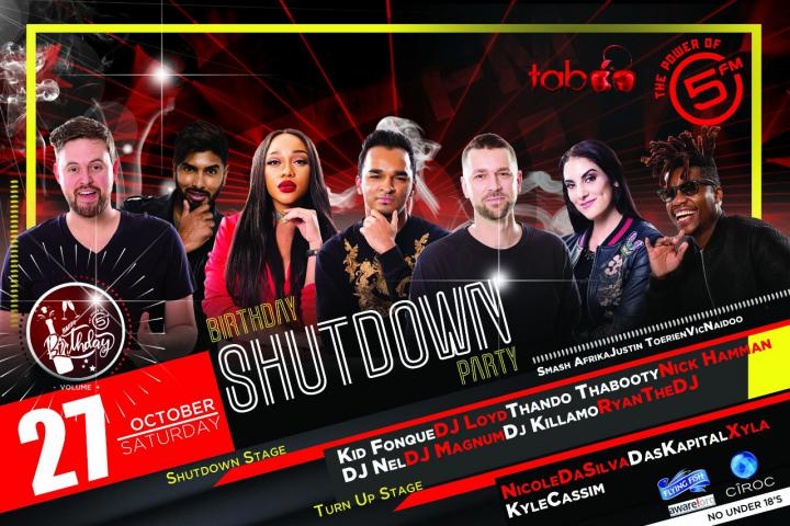 5FM Birthday SHUTDOWN