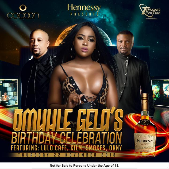 Trending Thirstdays: Omuhle Gela's Birthday Celebration