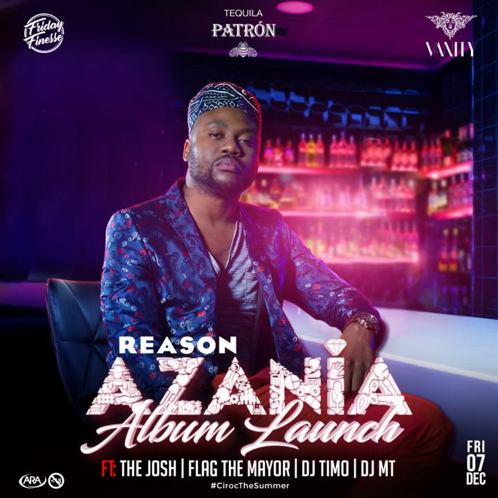 #FridayFinesse- Reason Azania Album Launch