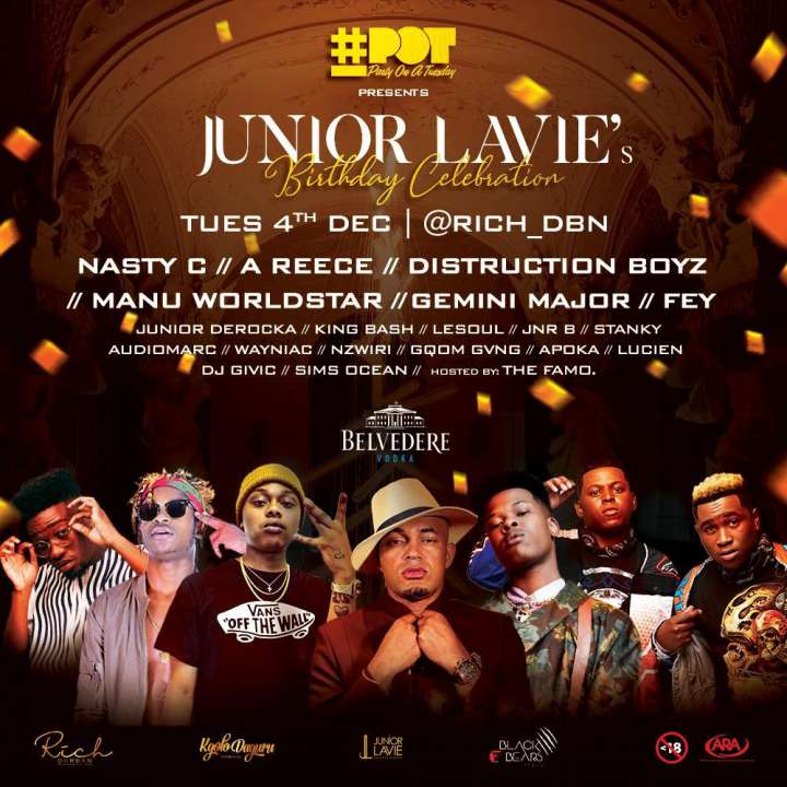 Junior Lavie Birthday Celebration