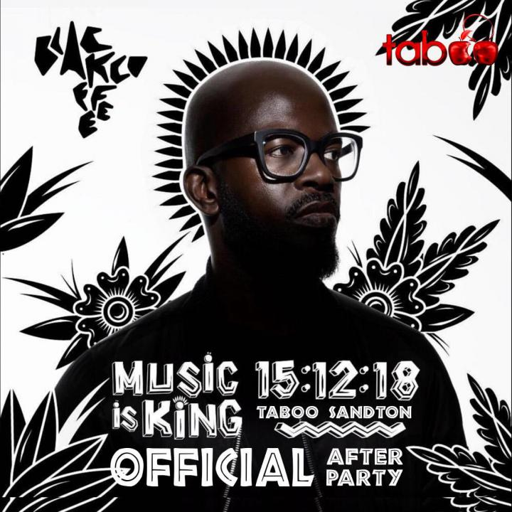 Black Coffee Music Is King Afterparty.