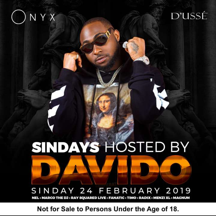 SINdays- Hosted by Davido