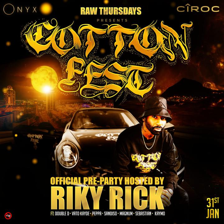 #RAWThursdays - Cotton Fest Pre Party