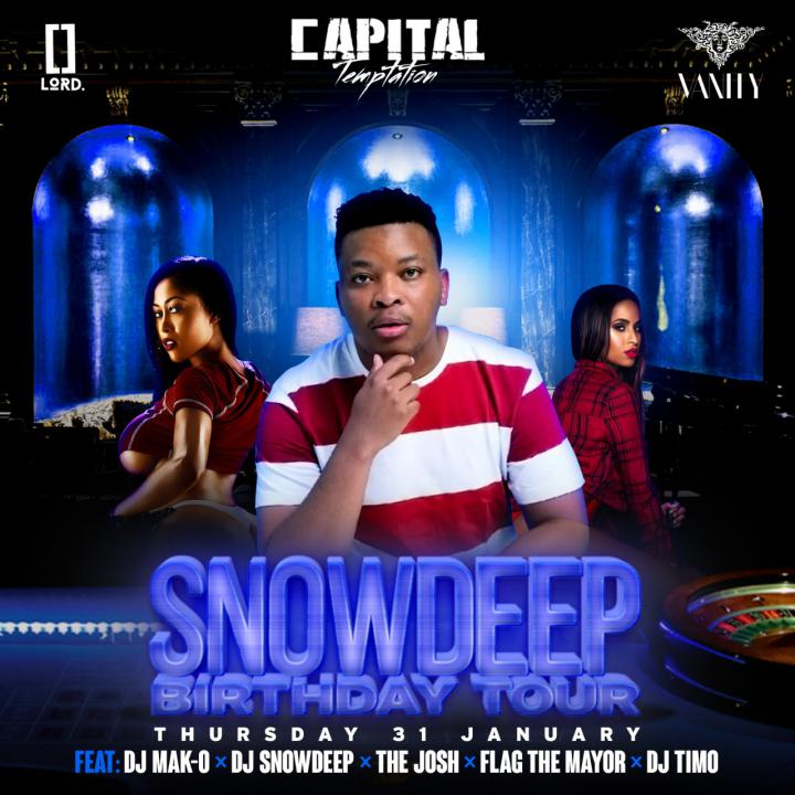 Capital Temptation : Snow Deep Birthday Tour