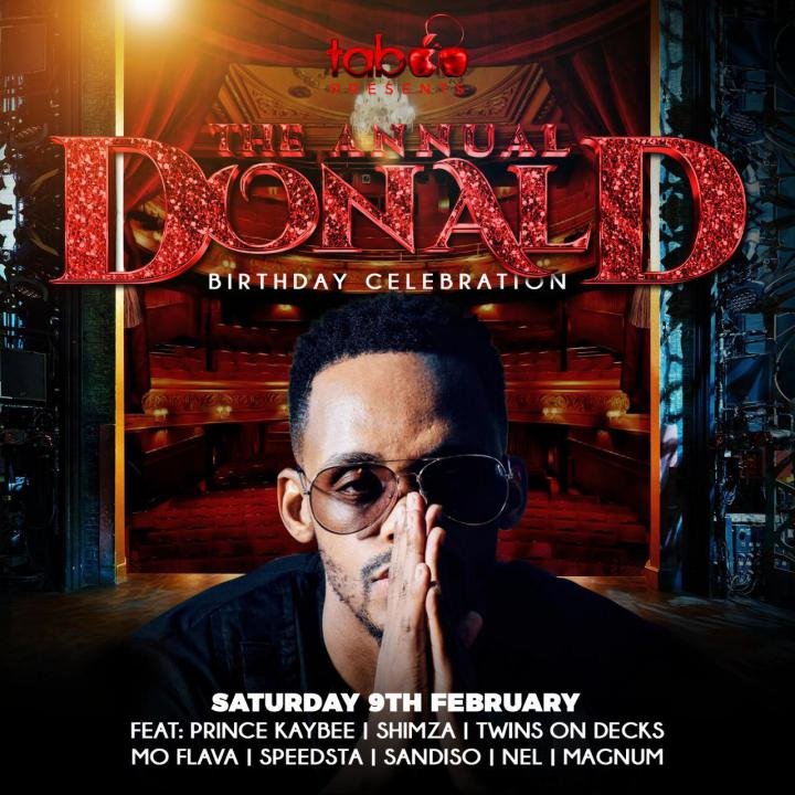 Donalds Birthday Celebration