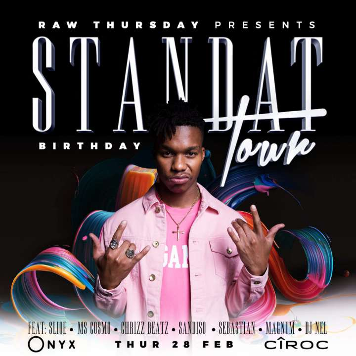 RAWthursdays- #Standat: DJ Sliqe Birthday Celebration