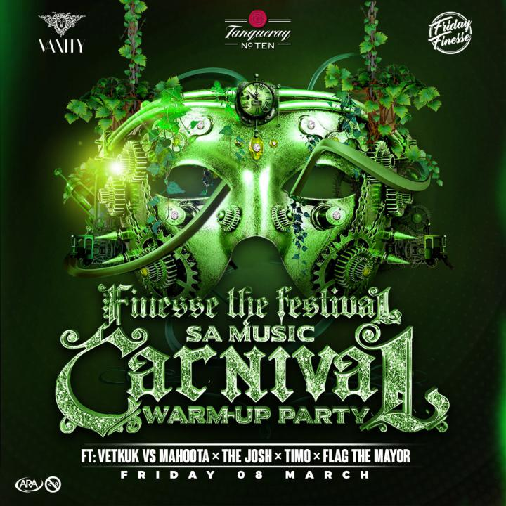 Finesse The Festival: SA Music carnival Warm-Up Party