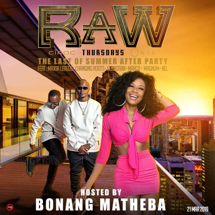 RAWthursdays: hosted by Bonang