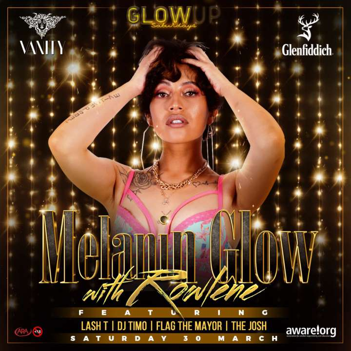 Melanin Glow with Rowlene