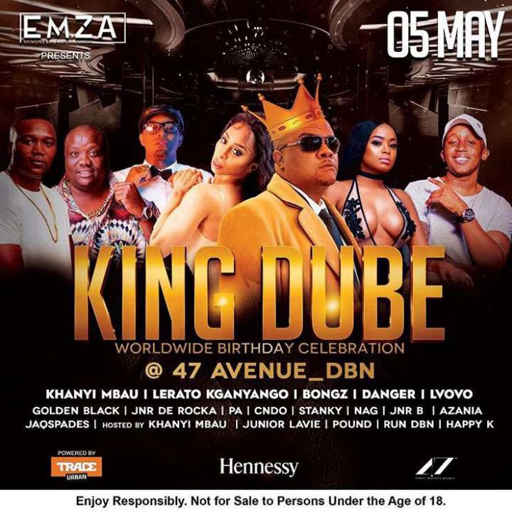 King Dube Birthday